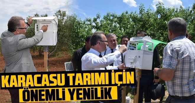 Karacasu tarımı için önemli yenilik