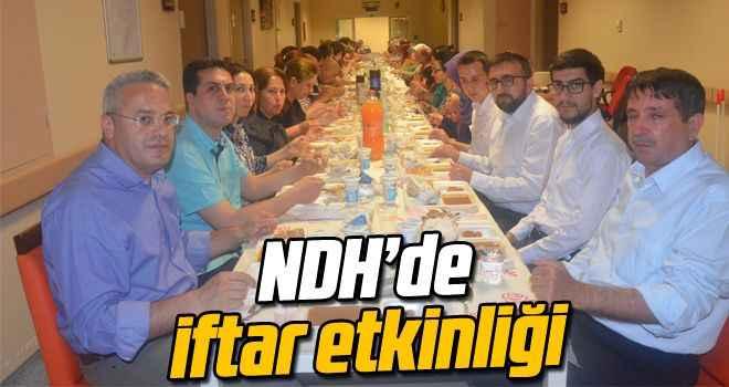 NDH'de iftar etkinliği