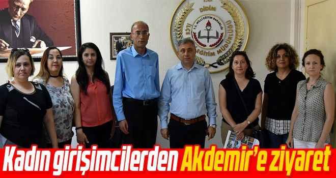 Kadın girişimcilerden Akdemir'e ziyaret