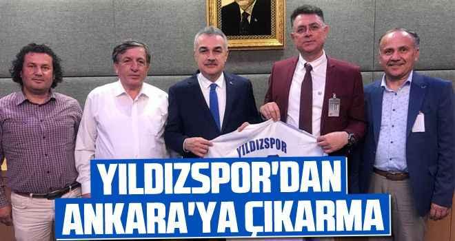 Yıldızspor'dan Ankara'ya çıkarma