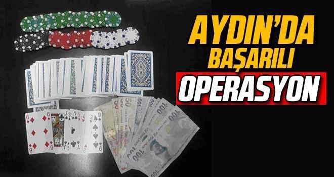 Aydın'da başarılı operasyon