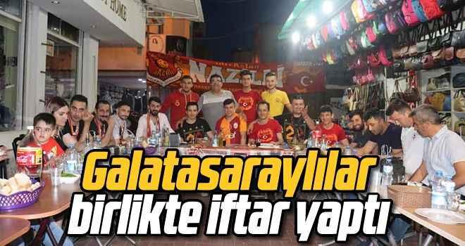 Galatasaraylılar birlikte iftar yaptı