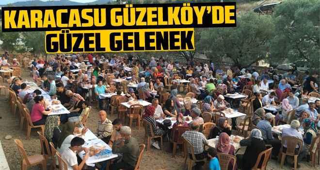 Karacasu Güzelköy'de güzel gelenek