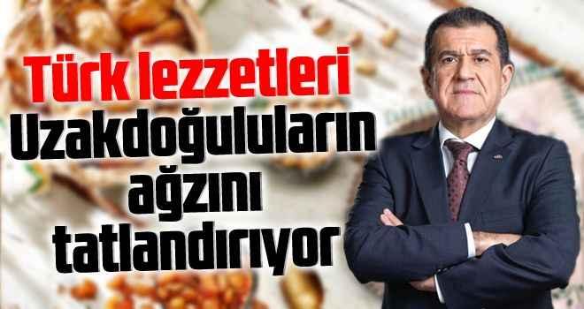 Türk lezzetleri Uzakdoğuluların ağzını tatlandırıyor