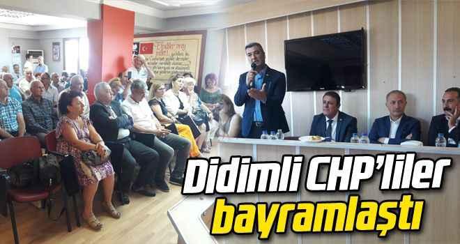 Didimli CHP'liler bayramlaştı