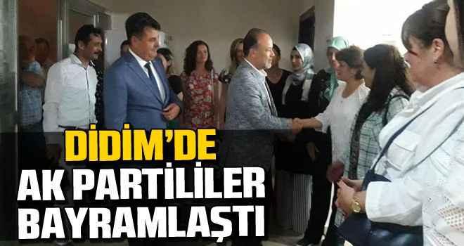 Didim'de AK Partililer bayramlaştı