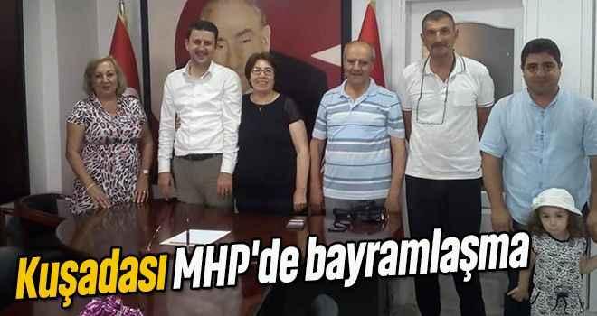 Kuşadası MHP'de bayramlaşma
