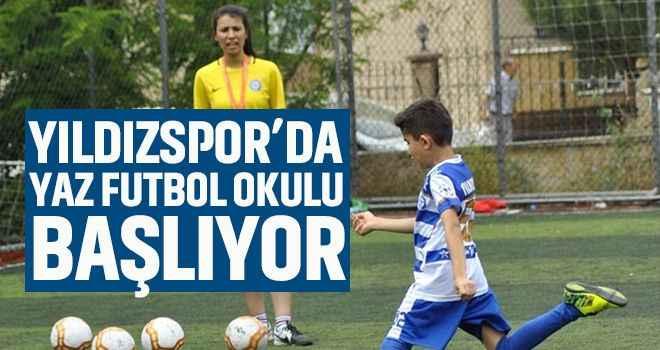 Yıldızspor'da 'Yaz Futbol Okulu' başlıyor