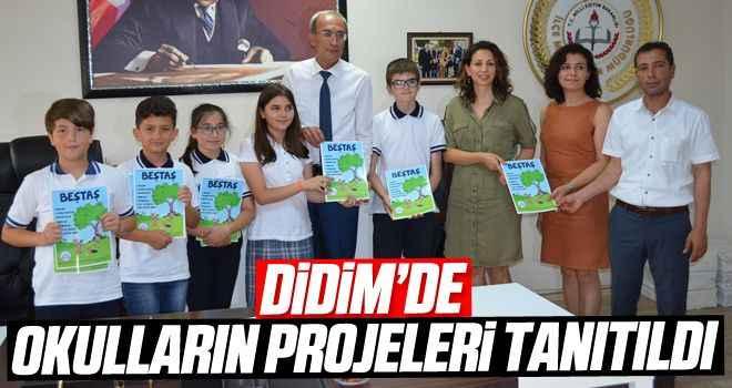 Didim'de okulların projeleri tanıtıldı