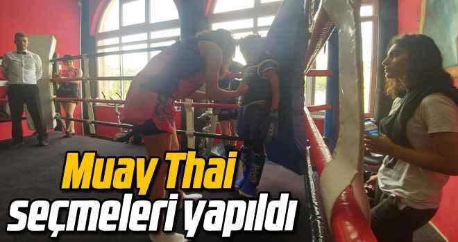 Muay Thai seçmeleri yapıldı