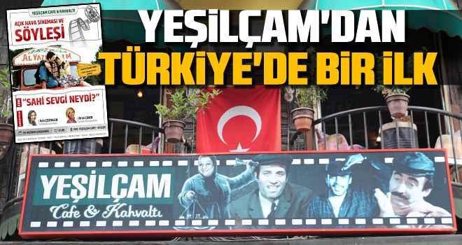 Yeşilçam'dan Türkiye'de bir ilk