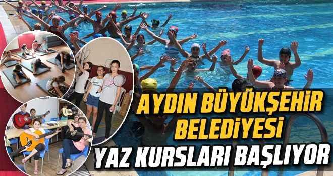 Aydın Büyükşehir Belediyesi yaz kurslarına çağırıyor
