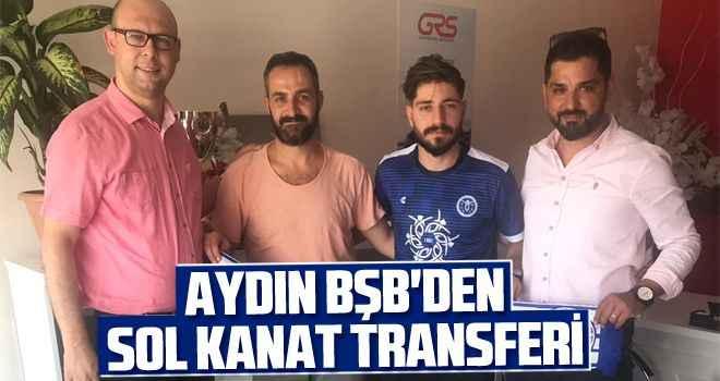 Aydın BŞB'den sol kanat transferi