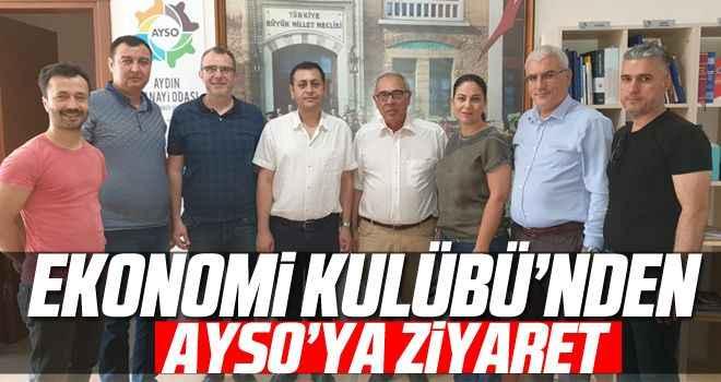 Ekonomi Kulübü'nden AYSO'ya ziyaret