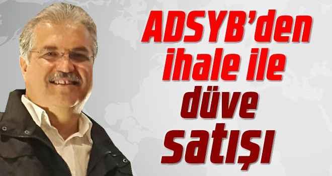 ADSYB'den ihale ile düve satışı