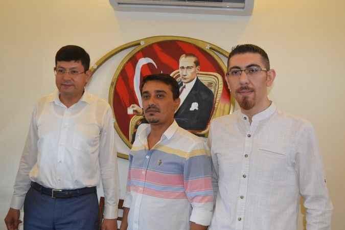 Başkan Özcan, gazetecileri ağırladı