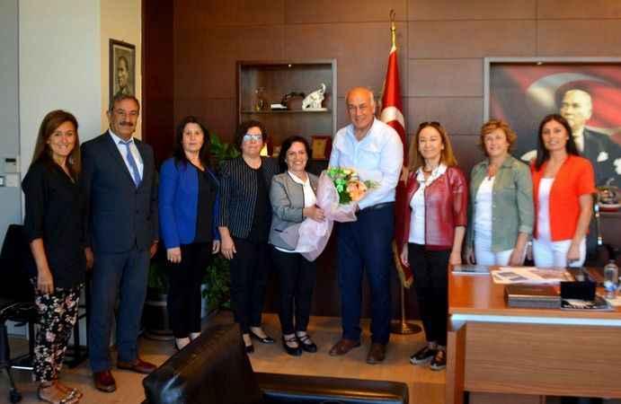 Söke Kent Konseyi'nden Başkan Tuncel'e ziyaret