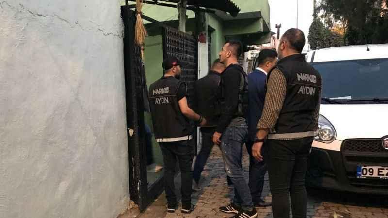 Aydın'da şüpheli ölüm sonrası uyuşturucu ve sahte içki operasyonu