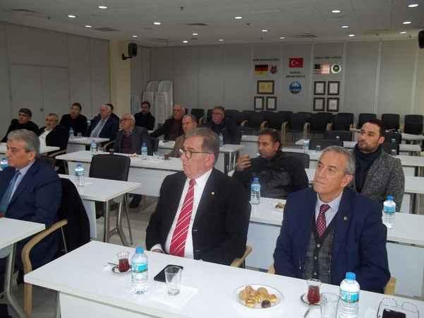 Başkan Tuncel, oda başkanlarıyla buluştu