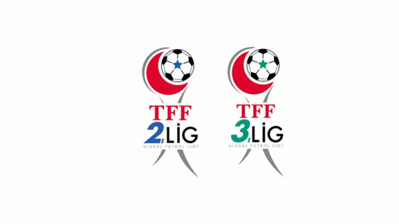TFF 2. ve 3.Lig sona erdirildi
