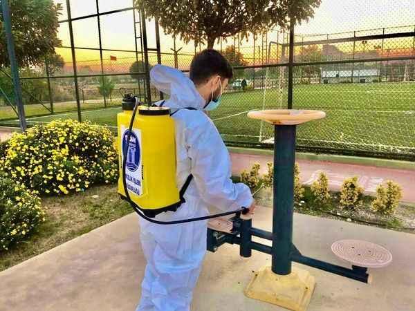 Başkan Atabay'dan dezenfekte talimatı