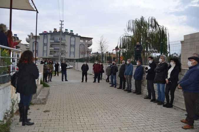 Didim Emek Platformu'ndan Boğaziçi'ne destek