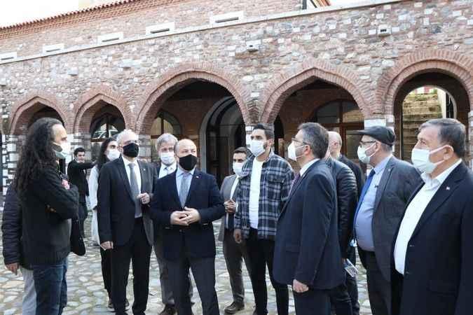 """AK Partili Yavuz: """"Gümrükönü Hanı için gereken adımları atacağız"""""""