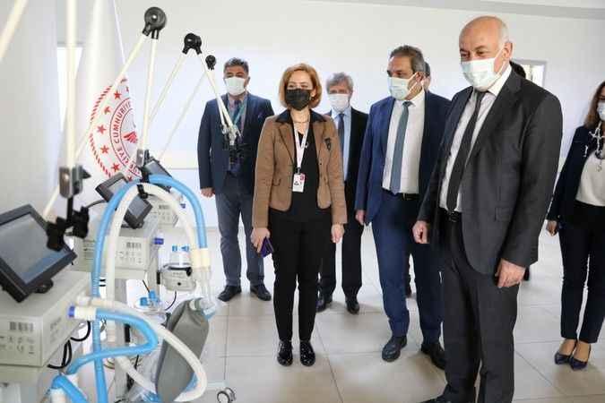 Söke Belediyesi'nden Devlet Hastanesi'ne 4 adet solunum cihazı