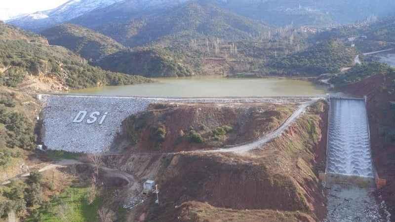 Doluluk oranına ulaşan Başçayır Barajı, üreticiyi sevindirdi