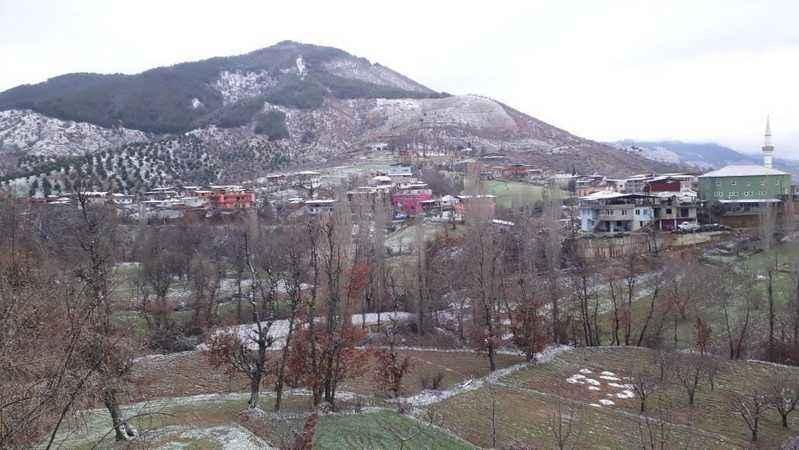 Nazilli'de kar yağışı başladı