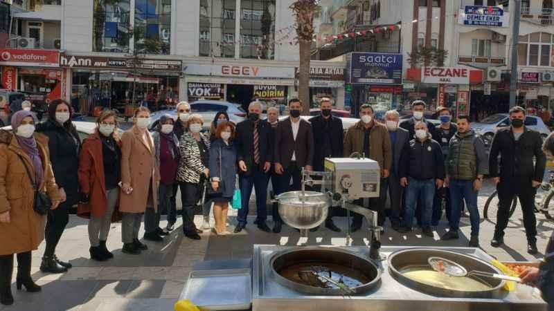 Didim Ülkü Ocakları, Çakıroğlu için lokma hayrı yaptı
