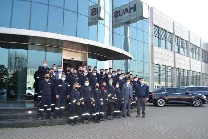 Aydın'da 44 kişi iş sahibi oldu