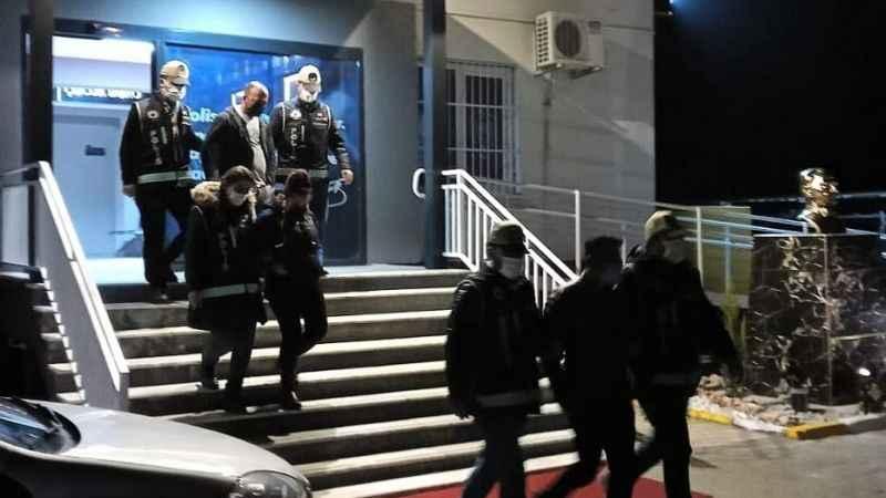 Nazilli'de fuhuş operasyonu: 5 gözaltı