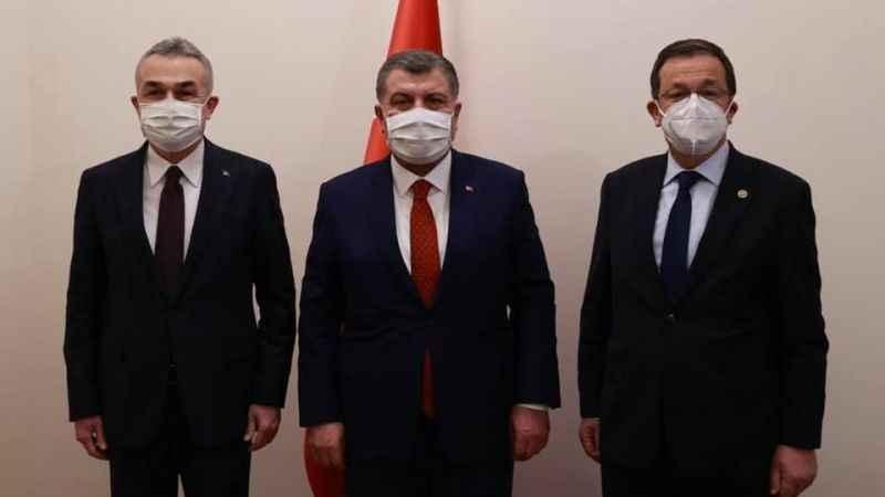 AK Partili Savaş, sağlık yatırımları için Bakan Koca'ya teşekkür etti