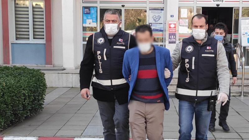 Nazilli'de aranan şahıs polisten kaçamadı