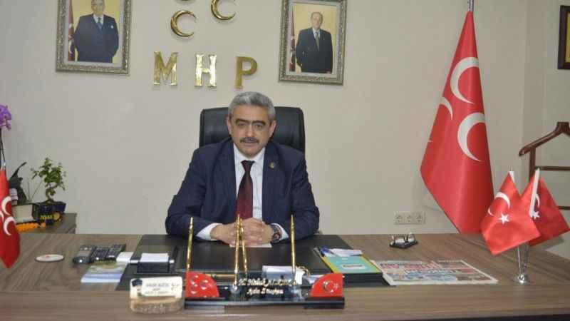 MHP'li Alıcık, rahmetli Erbakan'ı andı