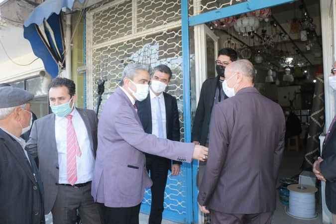 MHP'li Alıcık, esnaf ve vatandaşlarla buluştu