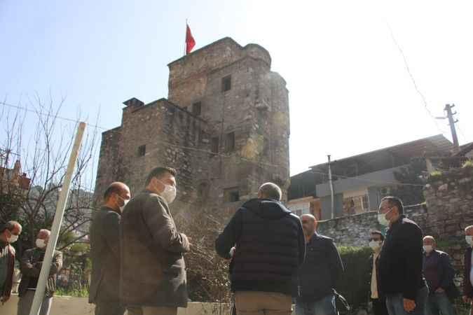 """""""Cihanoğlu Kulesi halkın ziyaretine açılacak"""""""