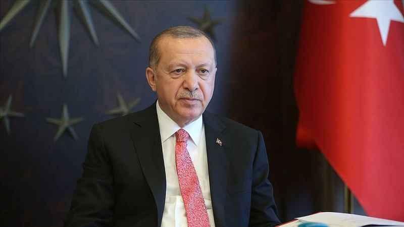 Cumhurbaşkanı Erdoğan kabine toplantısı ardından konuşuyor