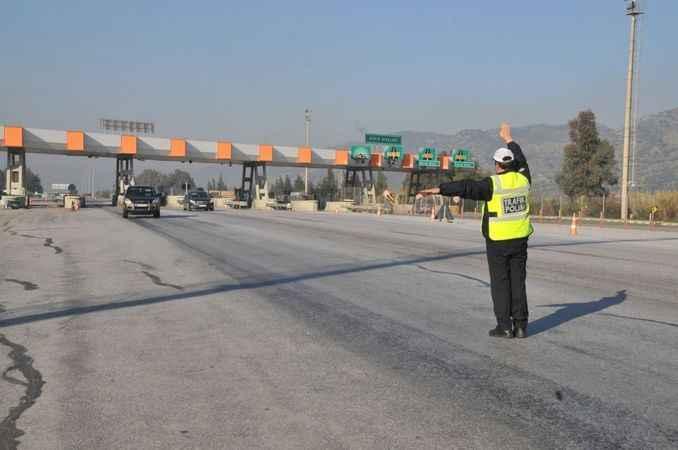 Trafikte ihlallere ceza yağdı