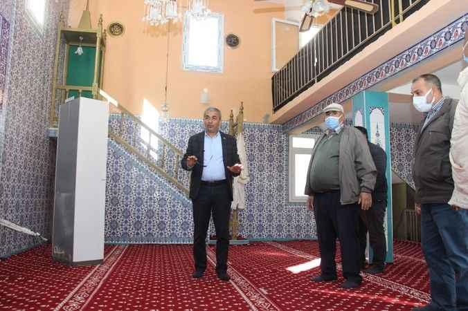 Koçarlı Şenköy Camii 37 yıl sonra yenileniyor