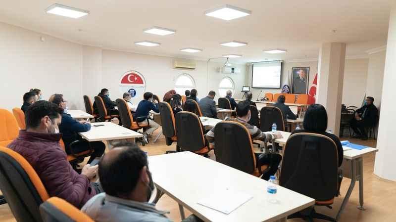 Didim'de belediye personeline eğitim veriliyor