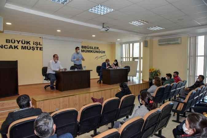 İşbaşı eğitim seçmeleri DTO'da yapıldı
