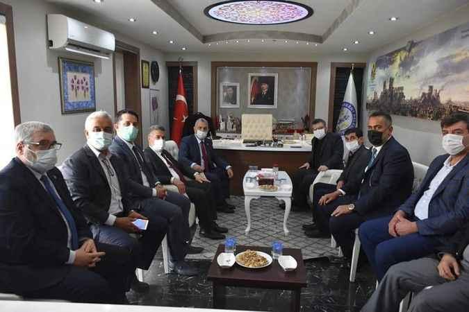 AK Partili Şanverdi'den Aydın'a ziyaret