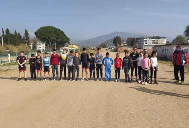 Aydın'da atletizm seçmeleri tamamlandı