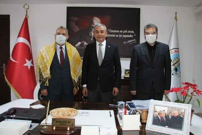 Şanverdi'den Başkan Kaplan'a övgü