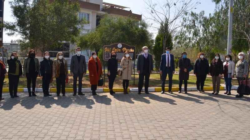 Nazilli'de Gül Esin Parkı açıldı