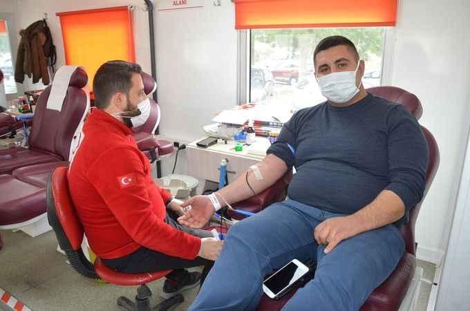 Didim'de kan bağışı kampanyası