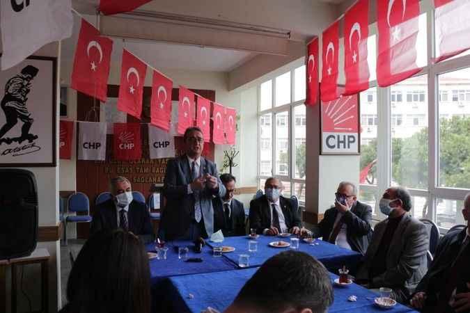 CHP'li Tezcan ve Bülbül'den Söke ziyareti