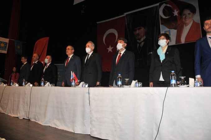 İYİ Parti heyeti, Aydın'da il ve ilçe başkanlarıyla buluştu